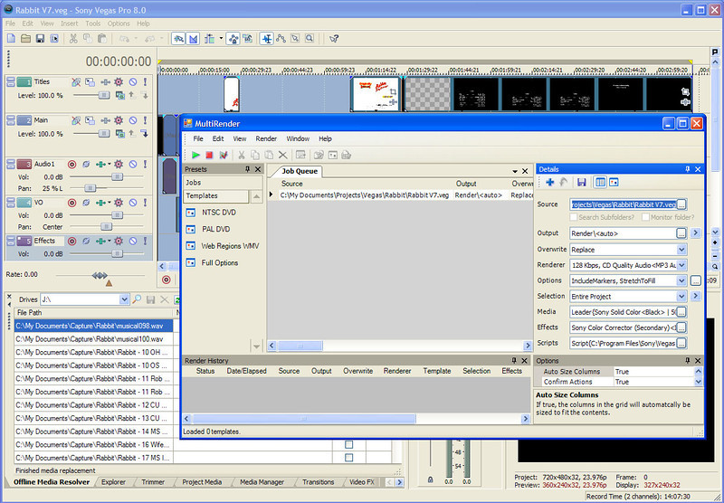 MultiRender Screen